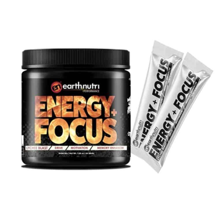 Energy + Focus Supplement lychee