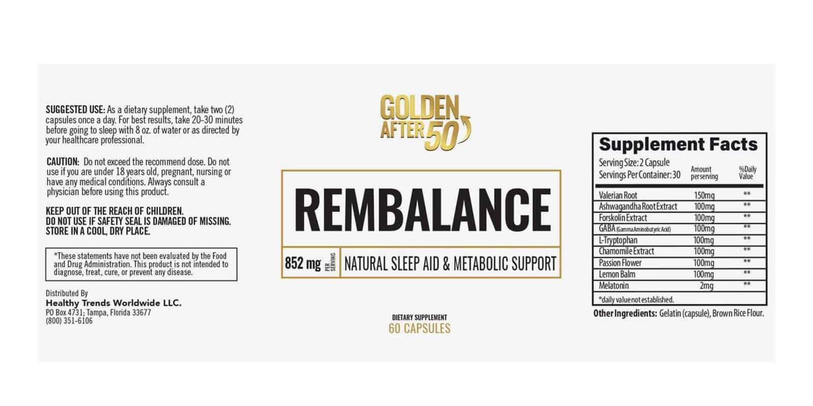 RemBalance Dosage