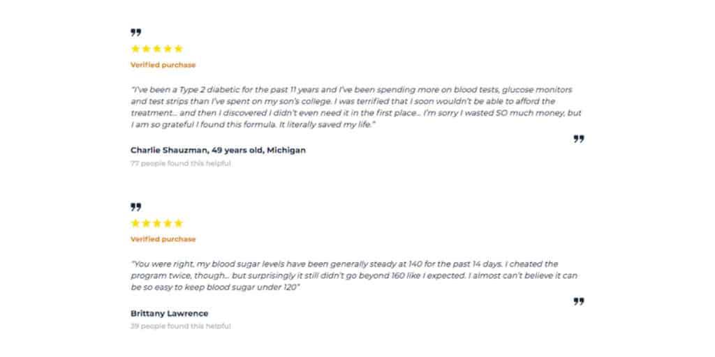 Diabacore customer review