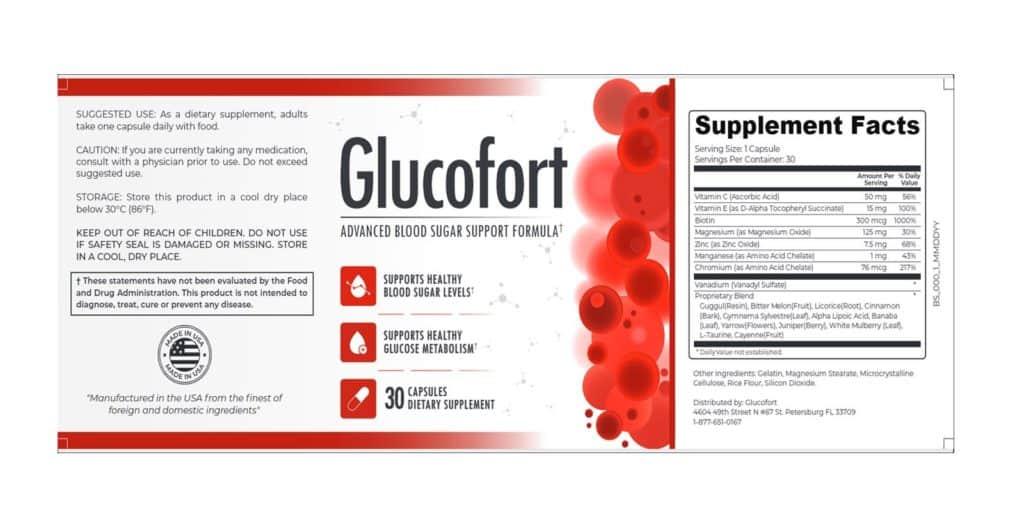 Glucofort Dosage