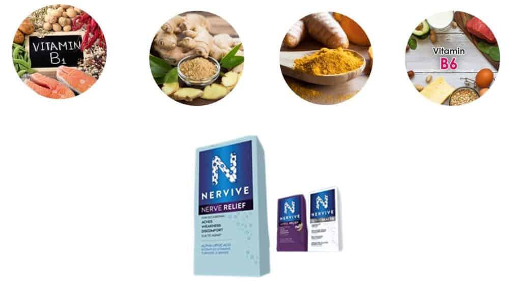 Nervive Nerve Relief Ingredients